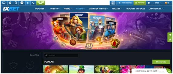 1xBet - Casino Online