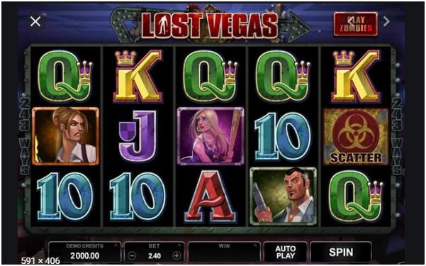 Juega a Lost Vegas - Migrogaming - Juegos de Casino Online