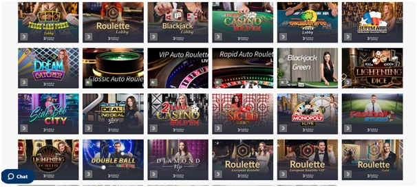 Evolution Gaming - juegos casino online