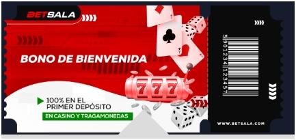 Bono bienvenida Casino Online Betsala