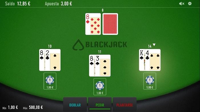 Blackjack en línea de Relax Gaming