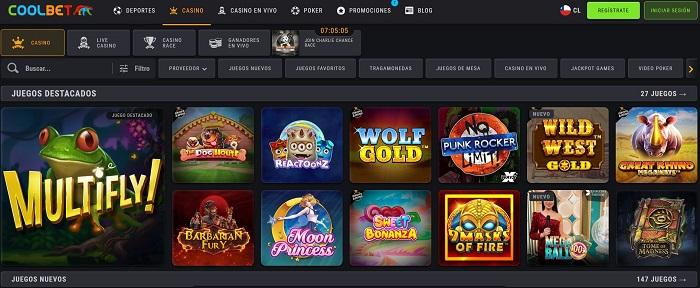Coolbet mejor casino online en Chile