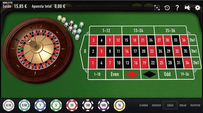 Ruleta online de Relax Gaming