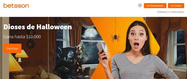 betsson promociones de halloween