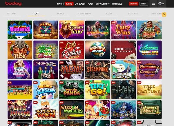 Slots Bodog Casino Online