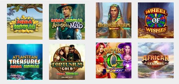 juegos de casino de Betsson