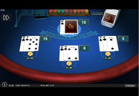Blackjack de Pragmatic Play