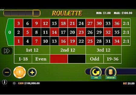 Ruleta Online de Pragmatic Play