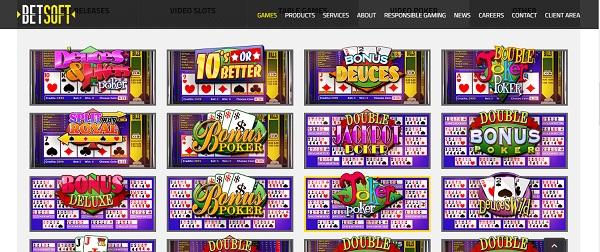 Descubre los juegos más apasionantes de Casino en Betsoft