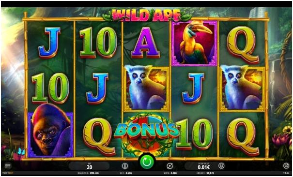 Wild Ape - juego de casino online desarrollado por Isofbet