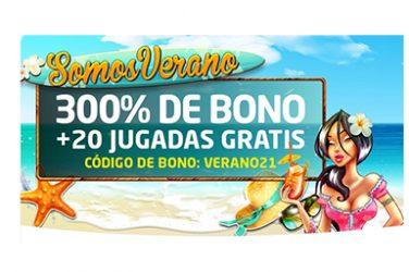 bono Verano SomosCasino