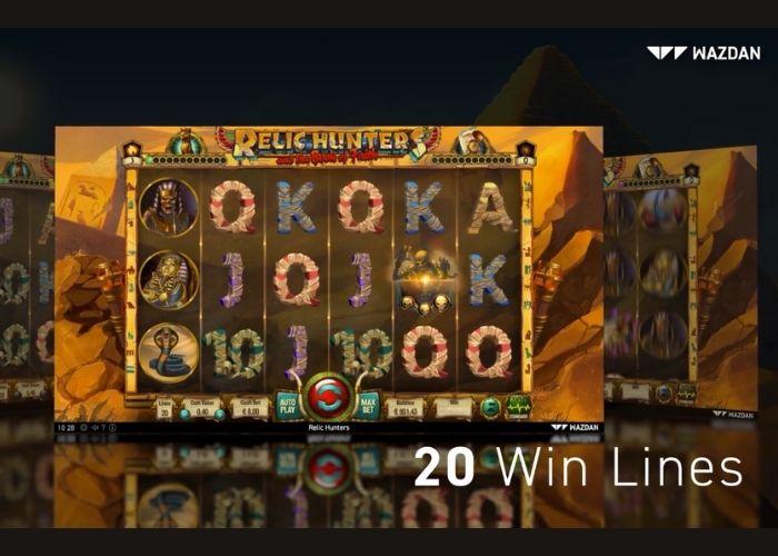 Relic Hunters - Juego de Casino Online desarrollado por Wazdan