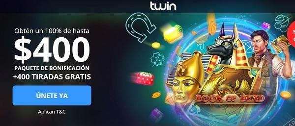 twin bono bienvenida casino